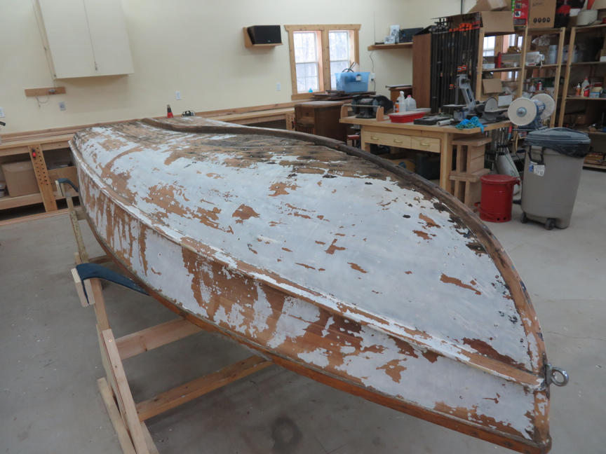 Chetek Aqua-Flyer fiberglass stripped