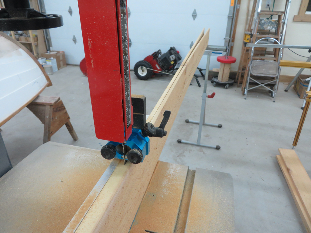 Resawing Yankee Tender Bottom Planks