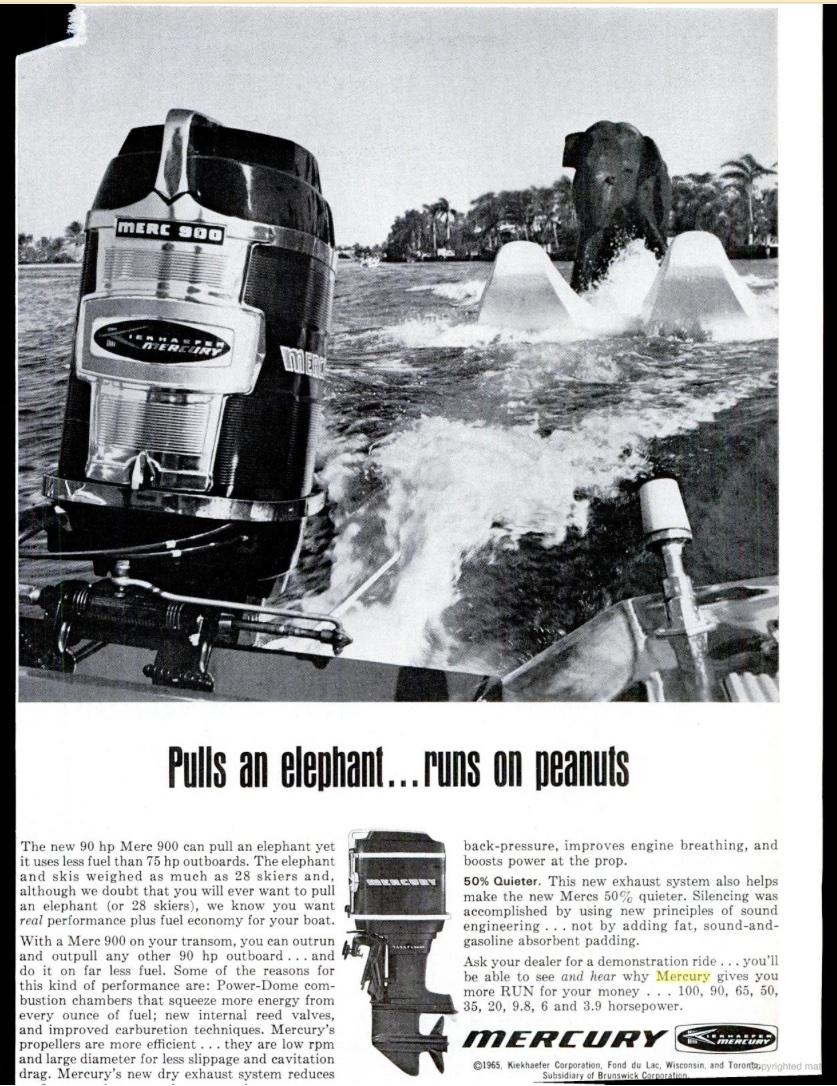 1962 Dunphy Voyager Model 1782 17 Outboard Www
